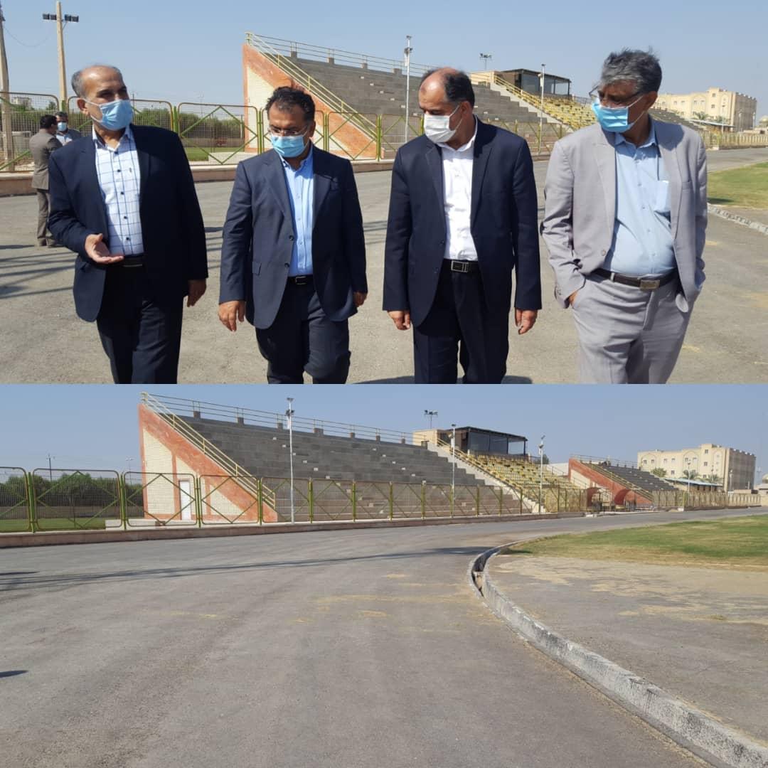 بازدید یک روزه از پروژه های شهرستان دشتستان