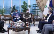 دیدار با سردار محمد و پروژه های قرارگاه سازندگی خاتم الانبیا