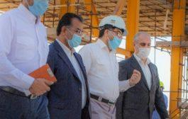 بازدید دکتر پور محمدی معاون اقتصادی و هماهنگی سازمان برنامه و بودجه کشور و همراه  هیات همراه ازصنایع پتروشیمی نفت و گازعسلویه