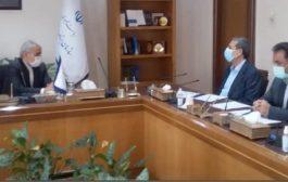 دیدار ریاست سازمان با دکتر محمد باقر نوبخت معاون محترم رئیس جمهور