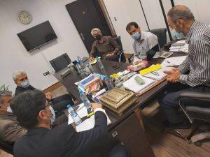 کارگروه توسعه مدیریت اداره کل کمیته امداد استان بوشهر